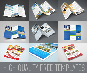 Ads Free indesign themplate
