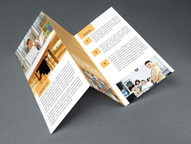 Free Business Trifold Brochure 02