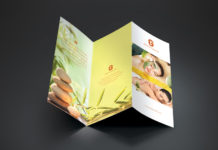 Spa Trifold Brochure Template (3)