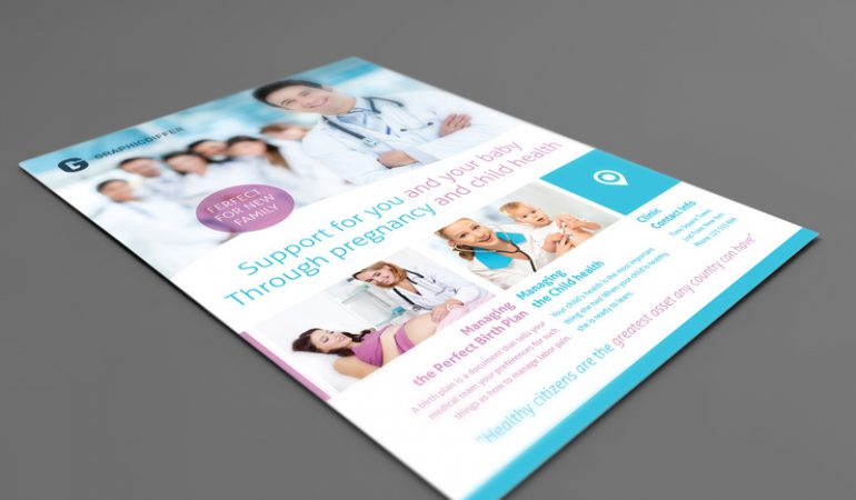 Pregnancy Indesign Flyer Templates – Graphicdiffer