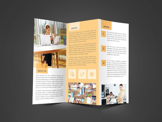 Free Business Trifold Brochure 06