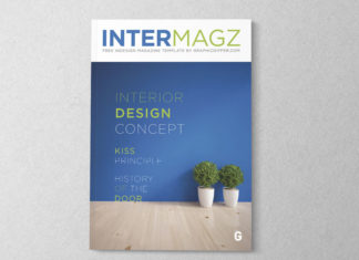 Interior Magazine Indesign Template 01