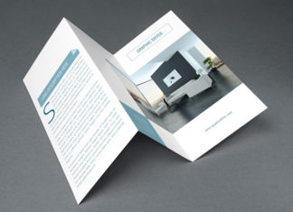 Interior Tri Fold Brochure Template 01