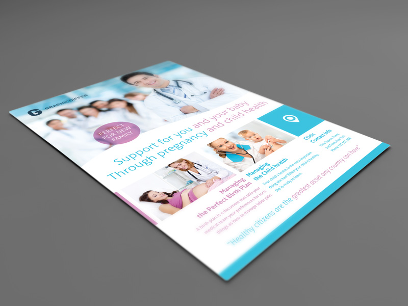Pregnancy Indesign Flyer Template (2)