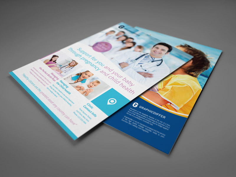 Pregnancy Indesign Flyer Template (5)
